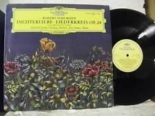 139 109 SCHUMANN Dichterliebe, Liederkreis FISHER-DIESKAU, DEMUS DG STEREO UK LP