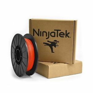 NinjaTek 3DCH05117505 NinjaTek Cheetah TPU Filament, 1.75mm, TPE. 5kg, Lava (...