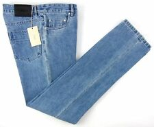 New BRIONI Gransasso Classic Fit Redline Selvedge Blue Denim Jeans 36 NWT $695!