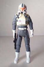 hasbro CLONE PILOT firing cannon STAR WARS REVENGE OF THE SITH 2005 3.75in #5661