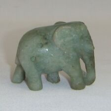 Handcrafted Jade Elephant  4cm Size