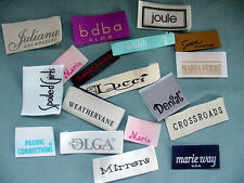 2500 PIECES CUSTOM PERSONALIZED WOVEN CARE LOGO LABELS - MANUFACTURED IN THE USA