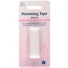 HEMLINE HEMMING TAPE - WHITE - 3 m X 20mm - H790WHITE