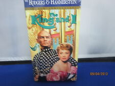 THE KING AND I Yul Brynner Deborah Kerr VHS *NEW SEALED NBO*Super Fast Shipping