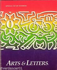 ARTS AND LETTERS ~ CLIP ART HANDBOOK 8,000 IMAGES ~ SC
