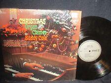 "Buddy Cole ""Christmas Organ & Chimes"" LP in SHRINK"