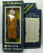 1970s Mego George Washington Hero of the American Revolution Doll Toy