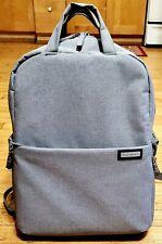 Beaspire Camera Laptop Backpack DSLR SLR Waterproof Large Size Heather Gray