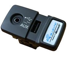 Fiat 500 Panda Punto Blue and Me USB Media Player AUX Socket New & Genuine