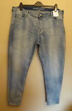 M&s Blue Super SKINNY Denim Jeans Size 20 Reg Ladies L28
