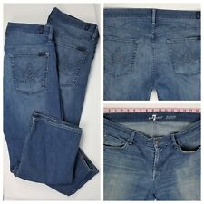 7 For All Mankind Mens Austyn Relaxed Straight Jeans Size 36 x 28 2 Pairs