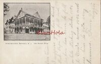 Postcard Hotel Belvidere New Jersey NJ