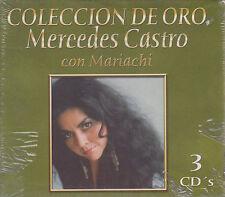CD - Mercedes Catro NEW Coleccion De Oro  3 CD's - FAST SHIPPING !