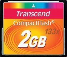 Tarjetas de memoria para cámaras de vídeo y fotográficas para 2 GB