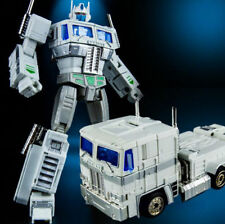 TRANSFORMERS - Optimus Prime Blanco MP10V Figura de Accion 20 cm,kBB, KUBIANBAO