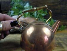 Small Copper & Brass Kettle