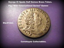 George III Spade Half Guinea Token.Play With International Series Games.AH7015.