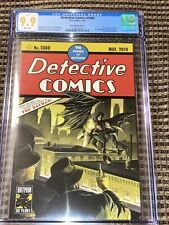 Detective Comics 1000 27 Homage CGC 9.9 Alex Ross Variant 1st Arkham Knight