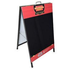 Quality Liquid Chalk Blackboard A Board / Sandwich Board with company logo