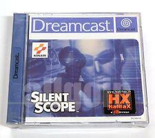 Gioco SEGA Dreamcast SILENT SCOPE Konami 2000 NUOVO RARO