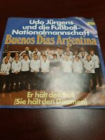 45 Record Udo Jurgens German World Cup Football Team Beunos Dias Argentina VG+