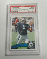 2011 TOPPS CAM NEWTON STANDS IN BACKROUND PSA GEM MINT 10 #200 ROOKIE RC (MR)