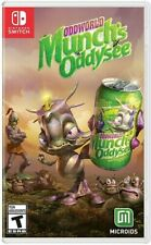 Oddworld: Munch's Oddysee for Nintendo Switch [New Video Game]