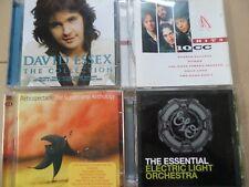 Essential Electric Light Orchestra/Supertramp /David Essex/10 cc-rock job lot