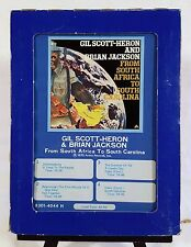 Gil Scott-Heron & Brian Jackson - From South Africa to South Carolina (8-Track)