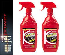 2x Reflex Dry Platinum Profi Politur mit Ultimate Versiegelung Autopflege Set