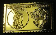 1796 United States Capped Bust 2 1/2 Dollar Numistamp 1980 Medal Reed No Stars