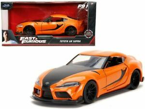 1:32 Han's Toyota GR A90 Supra Orange -- Fast & Furious JADA