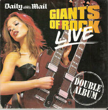 GIANTS OF ROCK LIVE - PROMO 2 CD SET: DEEP PURPLE, LITTLE FEAT, ROXY MUSIC ETC