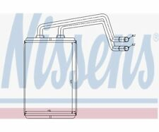 NISSENS Heat Exchanger, interior heating 77612