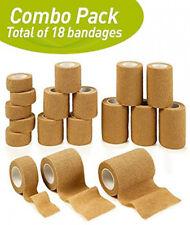 MEDca Tape Wrap Self Adherent Adhering Stick Bandage Self Grip Roll