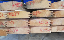 50mm x 150mm (135 x 45mm ) HEAVY DUTY DOUBLE T&G LOG LAP WOOD CLADDING UNTREATED