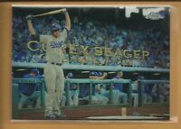 Corey Seager RC 2016 TOPPS CHROME MLB Perspectives Rookie Card # PC-18 Dodgers