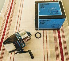 Nib! Vintage Old Stock Spincast Reel Amtak 303 Dupon monofilament 80 yds 8 lb