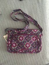 NWT Vera Bradley Iconic RFID Little Hipster in Lilac Medallion