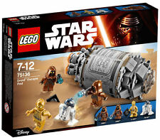 LEGO® Star Wars 75136 - Droid Escape Pod NEU & OVP R2-D2 C-3PO und 2 Jawas