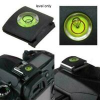 Shoe+Bubble Spirit Level Protector Cover For DSLR Nikon Camera T4H1 CA M2P1