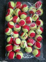 12x Babolat Mini Tennis Coaching Red Junior Tennis Balls - Garden Dogs Party NEW