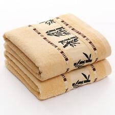 "Bamboo fiber Bath towel Upscale Dry hair towel Antibacterial towel 55""X27"" 420g"