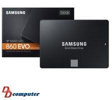 "Samsung 860 EVO 500 GB, Internal 2.5"" SATA III SSD (MZ-76E500BW)"