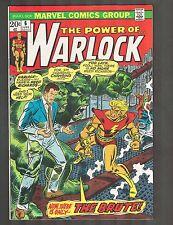 "Warlock #6 ~ ""The Brute!"" / Romita Cvr ~ 1973 (7.5) WH"