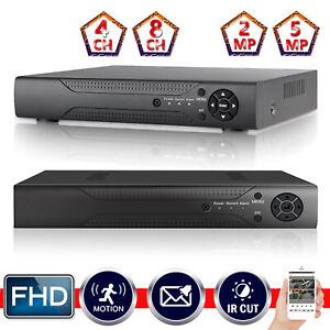 4CH 8CH Smart CCTV DVR 4in1 2MP 5MP Surveillance Camera Video Recorder AHD TVI