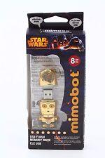 STAR WARS Mimobot 8GB C 3PO Flash Drive New Free Shipping