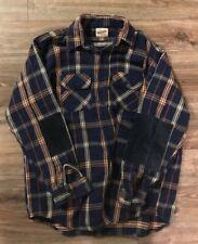 The Forester By Vanderbilt Plaid Flannel Shirt Mens Large Vintage