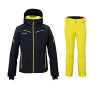 PHENIX RAPTOR Ski Jacket + SHUTTLE Ski Salopette Completo Uomo Sci ESA72OT32 BK