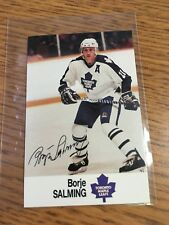 1988 ESSO NHL ALL-STAR COLLECTION BORJE SALMING STAMP STICKER FRENCH ENGLISH